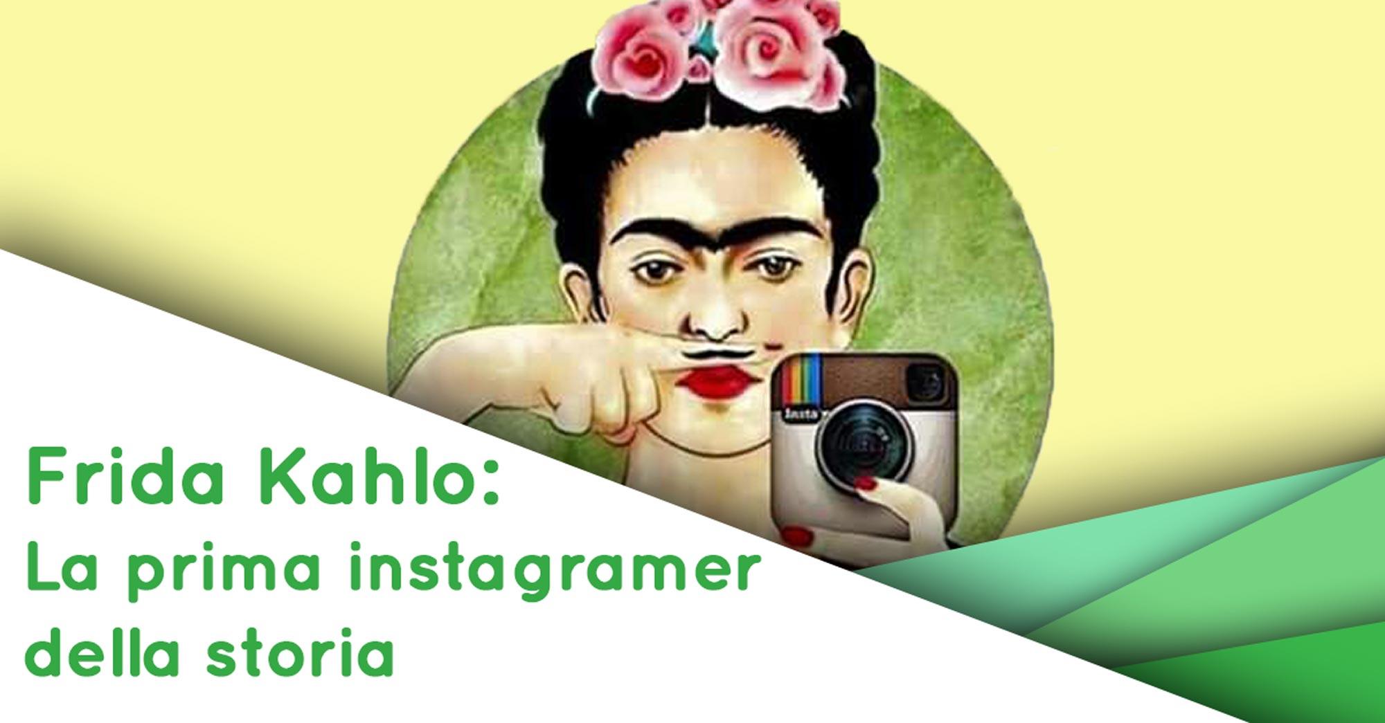 Frida Kahlo Instagramer